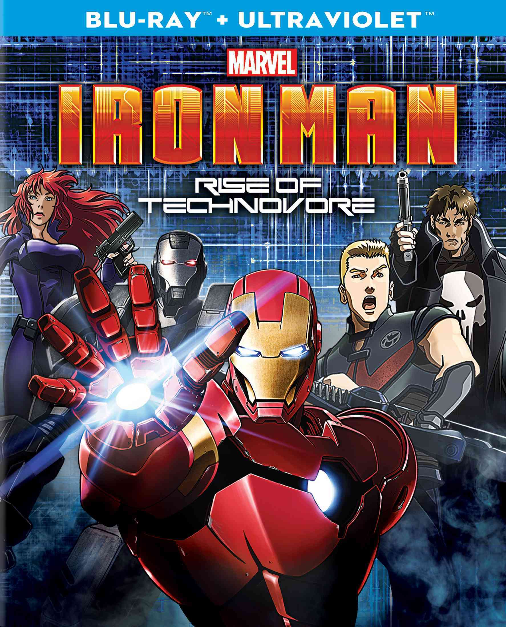 IRON MAN:RISE OF THE TECHNOVORE BY IRON MAN (Blu-Ray)
